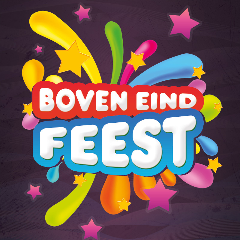 Event Boven Eind Feest website